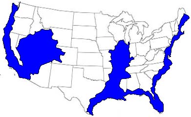 Future Maps of the United States After 2012